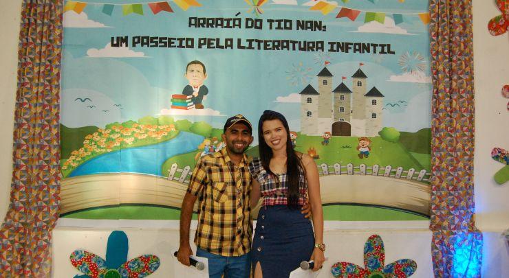 Arraiá do Tio Nan Escola Municipal Sebastião Leite