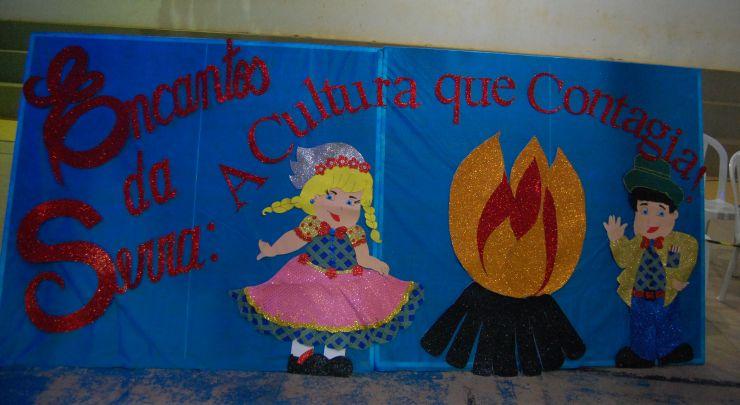 Arraiá da  Escola Municipal Raimunda Marques de Melo