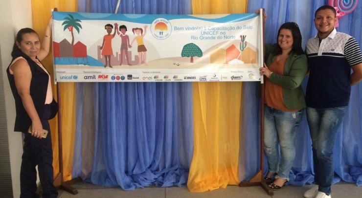 DOUTOR SEVERIANO, NO 5º CICLO DE CAPACITAÇÃO DO SELO UNICEF