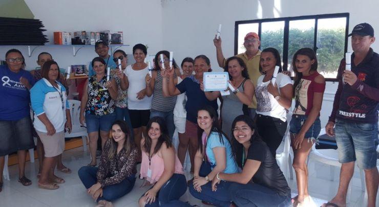 Último encontro do 10 Grupo de Tabagismo de Doutor Severiano