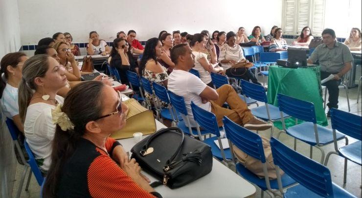 SECRETARIA MUNICIPAL DE EDUCAÇÃO DA INÍCIO A JORNADA PEDAGÓGICA 2018