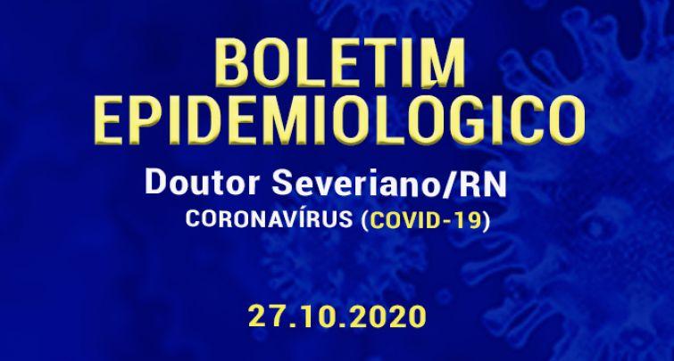 BOLETIM EPIDEMIOLÓGICO - 27.10.2020