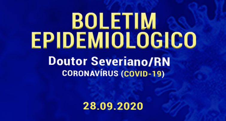 BOLETIM EPIDEMIOLÓGICO - 28.09.2020
