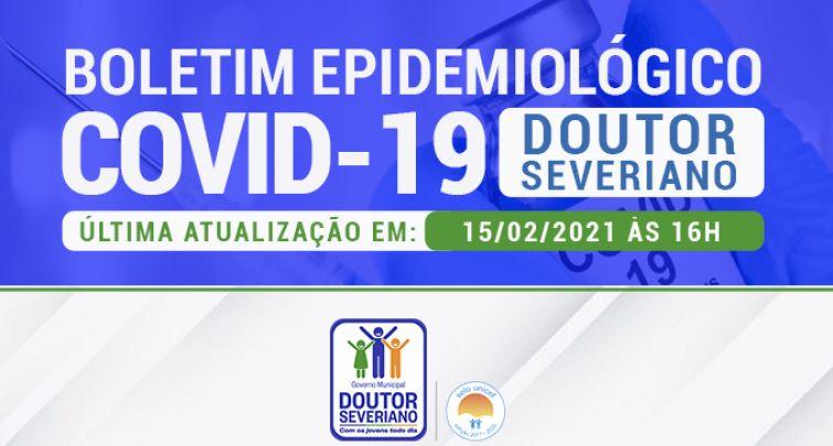 BOLETIM EPIDEMIOLÓGICO - 15.02.2021