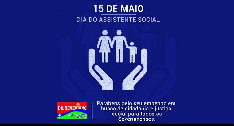 15 de Maio - Dia do Assistente Social