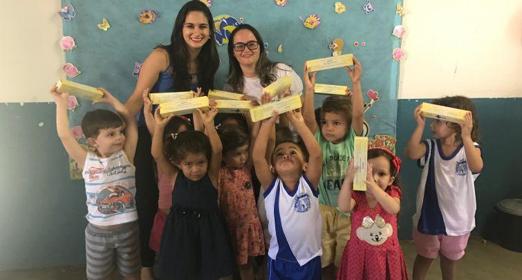 Secretaria de Educação e Saúde realizam ações de implementação do NutriSUS nas escolas
