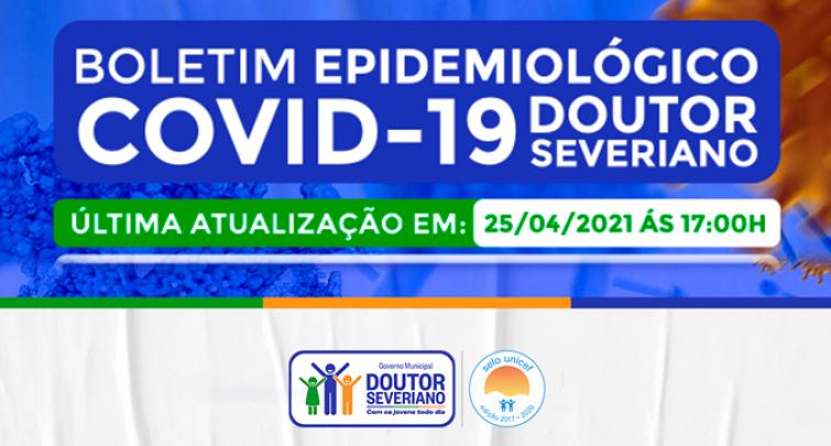 BOLETIM EPIDEMIOLÓGICO - 25/04/2021