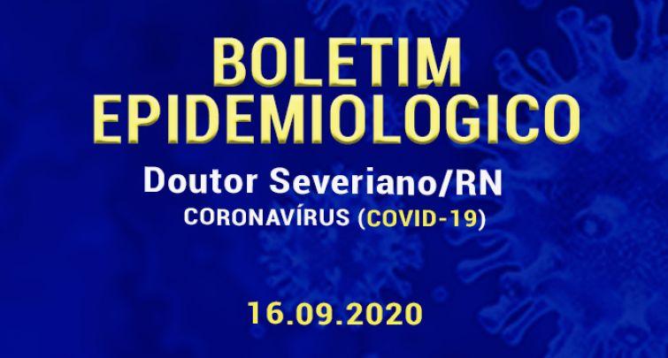 BOLETIM EPIDEMIOLÓGICO - 16.09.2020