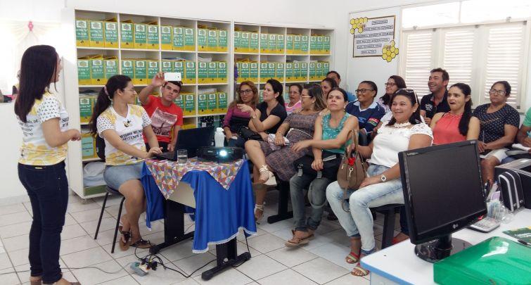 Capacitação com os Agentes Comunitários de Saúde sobre o Cadastro Único