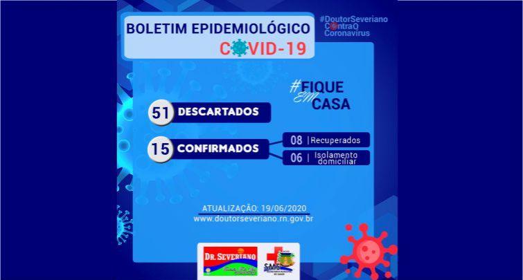BOLETIM EPIDEMIOLÓGICO 19/06/2020