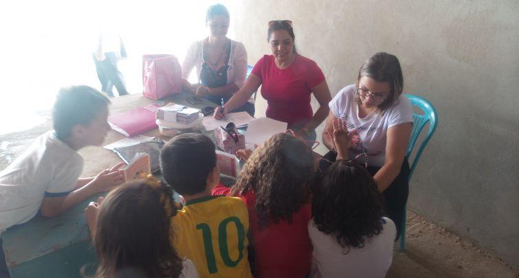 Programa Saúde na Escola no Sítio Lagoa de Dentro