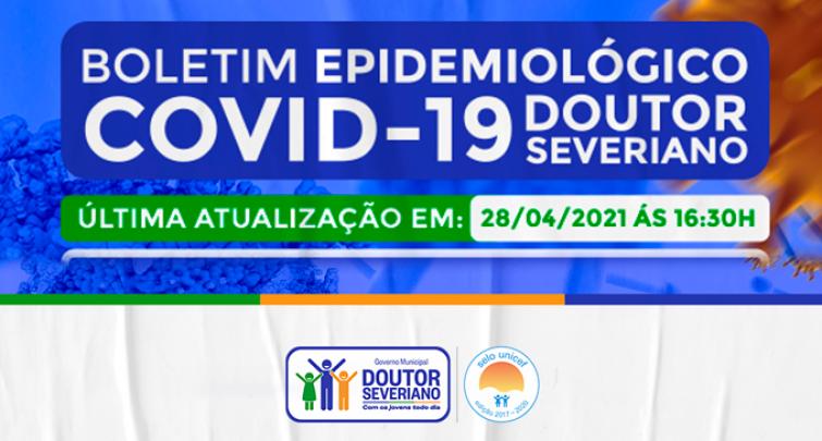 BOLETIM EPIDEMIOLÓGICO - 28/04/2021