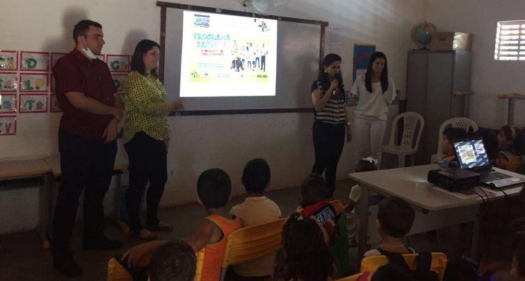 Programa Saúde na Escola no Sítio Jardim