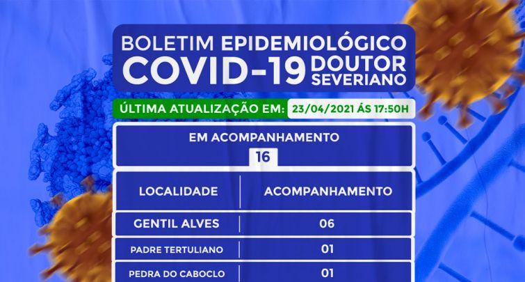 BOLETIM EPIDEMIOLÓGICO - 23/04/2021