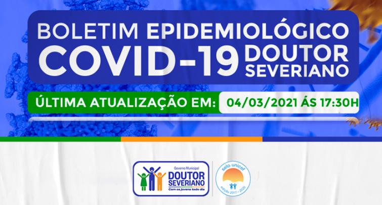 BOLETIM EPIDEMIOLÓGICO - 04/03/2021