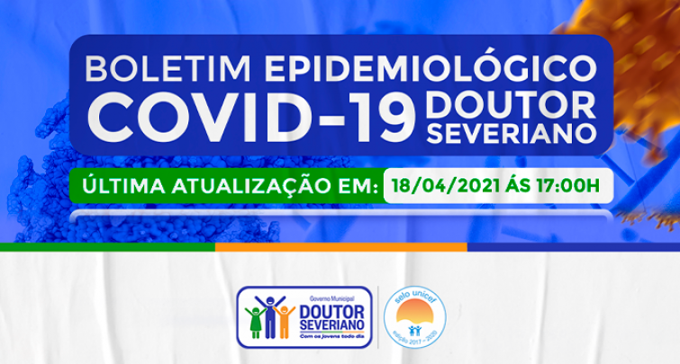 BOLETIM EPIDEMIOLÓGICO - 18/04/2021