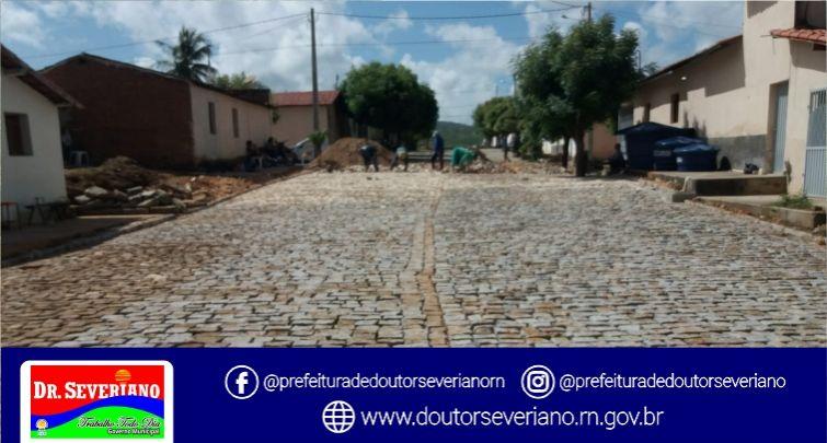 Pavimentação - Continuação da R. Monsenhor José Aires