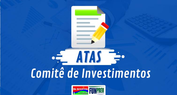 ATAS DO COMITÊ DE INVESTIMENTOS 2020
