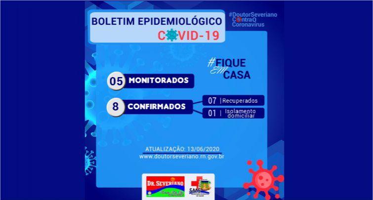 BOLETIM EPIDEMIOLÓGICO 13/06/2020