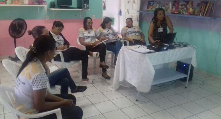 Capacitação para os Visitadores do Programa Criança Feliz no SUAS