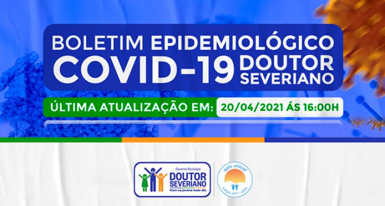 BOLETIM EPIDEMIOLÓGICO - 20/04/2021