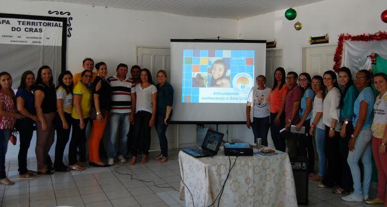 Socialização dos objetivos do projeto do Selo UNICEF, Município Aprovado Edição (2017-2020).