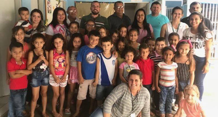 Programa Saúde na Escola (PSE) - Escola Municipal Raimunda Marques de Melo