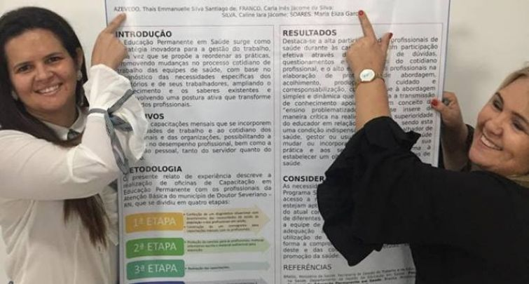 APROVAÇÃO DE TRABALHO EM MOSTRA DE EXPERIÊNCIAS MUNICIPAIS EM SAÚDE