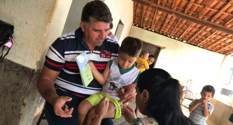 CAMPANHA DE VACINAÇÃO H1N1 - SÍTIO FRADE