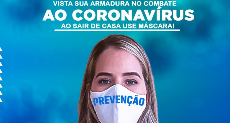 AO SAIR DE CASA USE MÁSCARA!