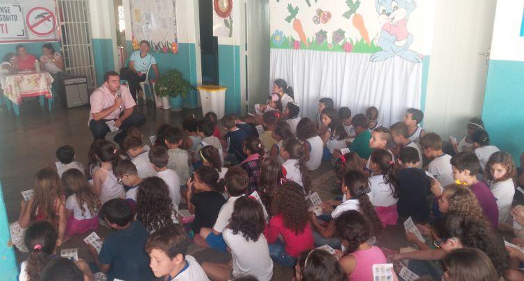 Abertura do PSE na comunidade Sítio Lagoa de Dentro