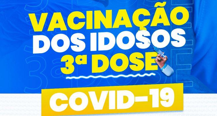 VACINAÇÃO DOS IDOSOS 3º DOSE
