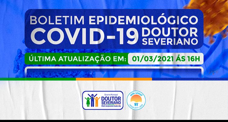 BOLETIM EPIDEMIOLÓGICO - 01/03/2021