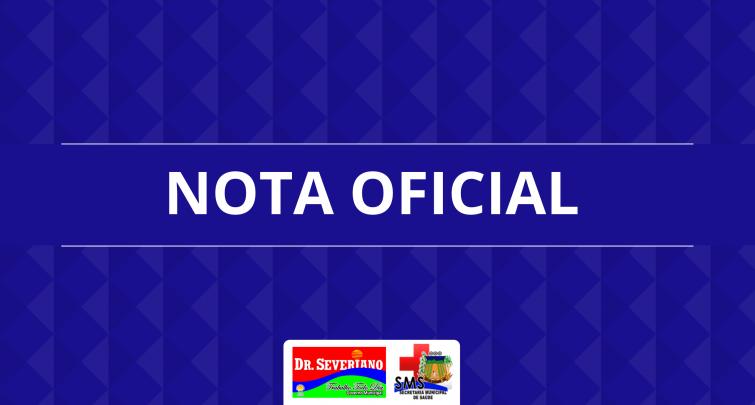 Nota Oficial - 14/06/2020