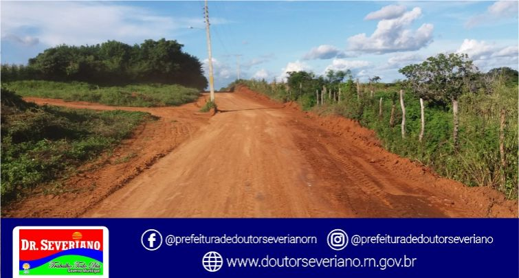 Realização da Terraplanagem nas Estradas do Sítio Junco ao Sítio Frade