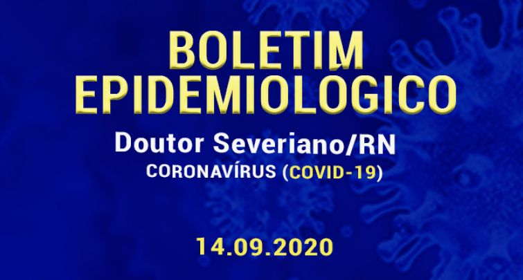 BOLETIM EPIDEMIOLÓGICO - 14.09.2020