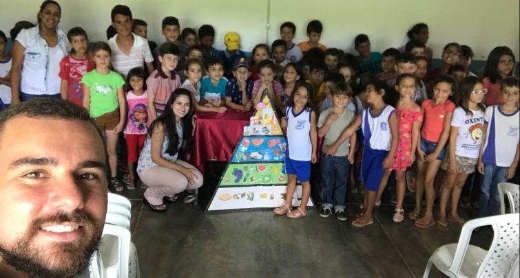 Semana Saúde na Escola - Escola Municipal Sebastião Leite