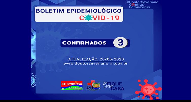 BOLETIM EPIDEMIOLÓGICO - 20/05/2020