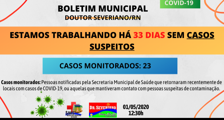 Boletim Municipal 01/05/2020