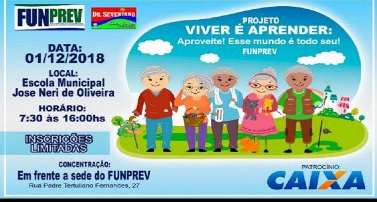 """PROJETO """"VIVER É APRENDER: APROVEITE! ESSE MUNDO É TODO SEU!"""""""