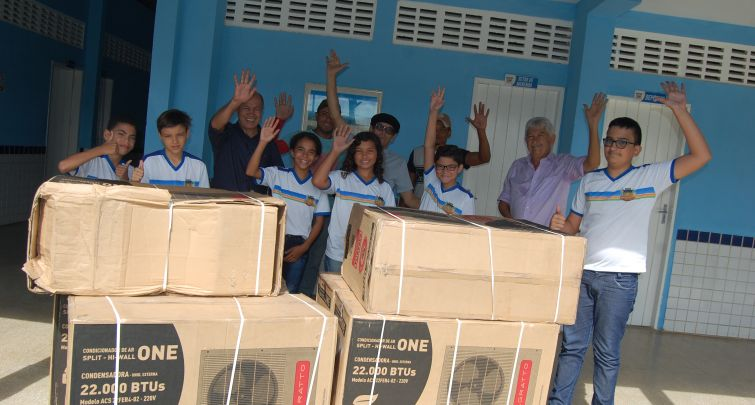 Climatização da Escola Municipal José Neri de Oliveira