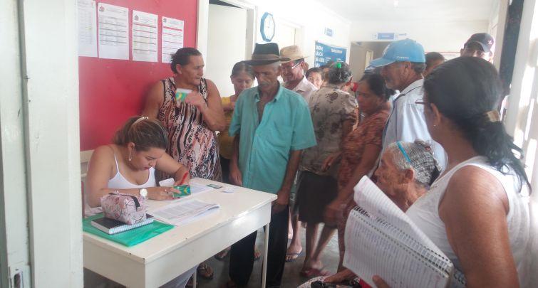 CAMPANHA DE VACINAÇÃO H1N1 NO SÍTIO LAGOA DE DENTRO